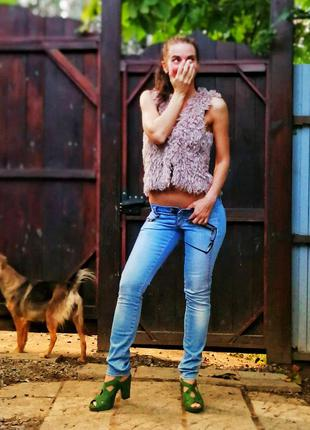 Крутые новые джинсы скинни miss sixty w28