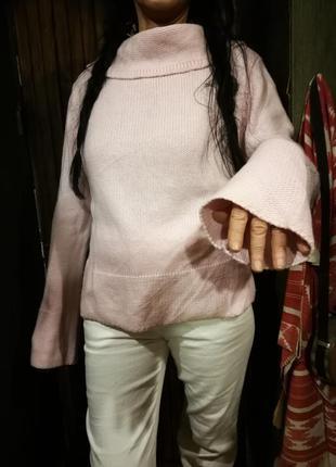 🌟новогодняя распродажа! 🌟 нежно розовый свитер dunnes