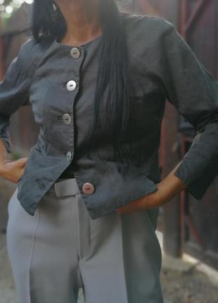 Жакет bitte kai rand куртка пиджак блейзер коттон хлопок