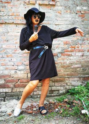 Платье фактурное блестящее миди приталенное f&f батал большого...