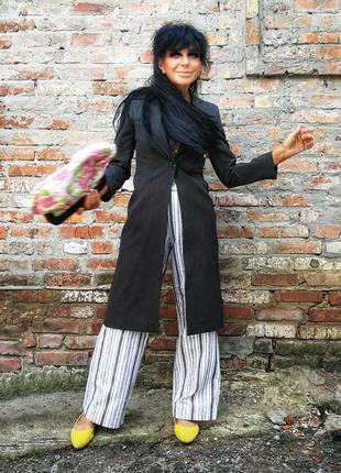 Удлинённый пиджак жакет блейзер topshop длинный летний