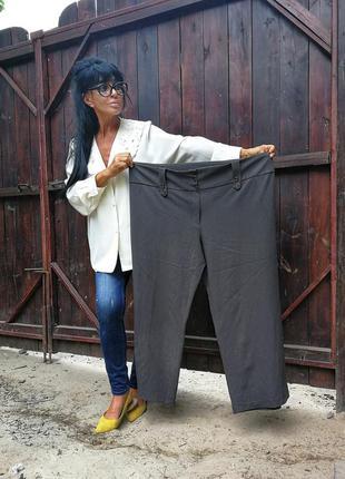Брюки штаны батал большого размера стрейч стрейчевые высокая т...