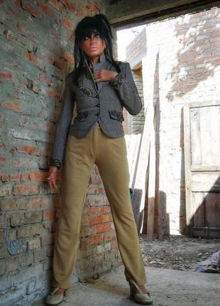 Брюки штаны высокая талия посадка