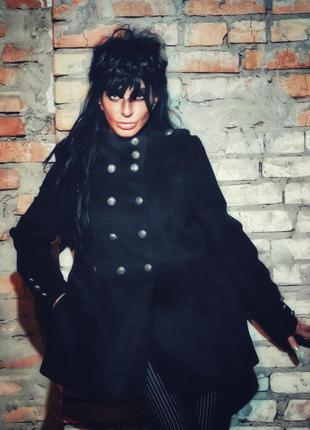 Пальто флисовое куртка флис в милитари стиле river island деми...