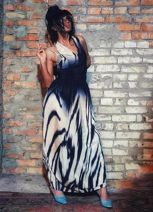 Сарафан платье макси длинное wangezu