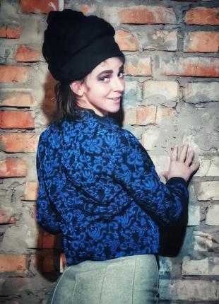 Жаккардовый пиджак жакет блейзер жаккард в узор вечерний
