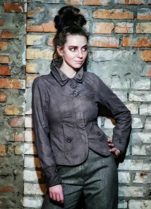 Пиджак vero moda жакет блейзер коттон хлопок