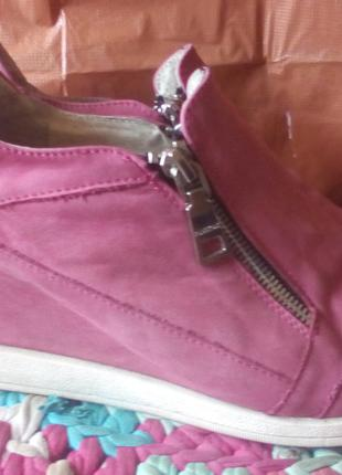 Отличные ботинки -сникерсы