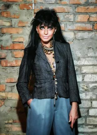 Пиджак с шерстью isabel de pedro жакет блейзер