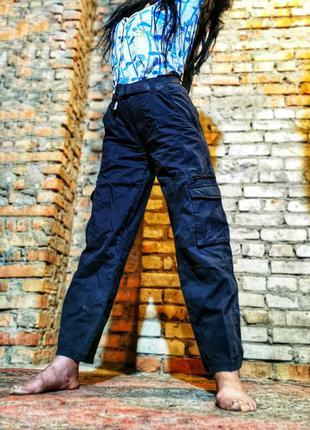 Штаны с накладными карманами lee cooper брюки в спортивном сти...