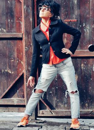 Пиджак шерстяной с шерстью вискоза vila жакет блейзер