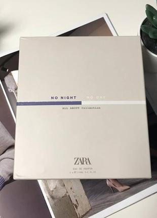 Zara no night духи туалетная вода парфюмерия