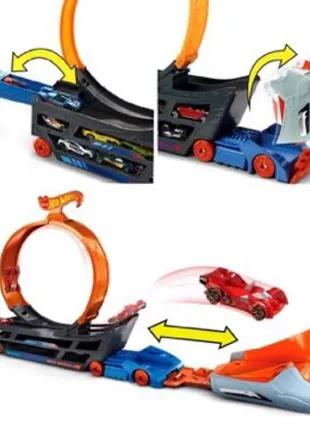 Трек Hot Wheels Track builder Крутые трюки Грузовик