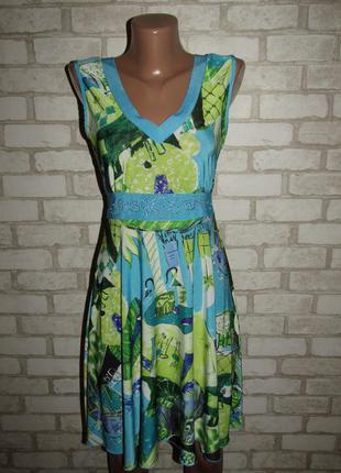 Летнее платье сарафан р-р 38-12