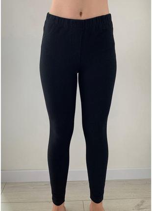 Штани чорні, лосини, штани на кожний день, черные брюки, джегг...