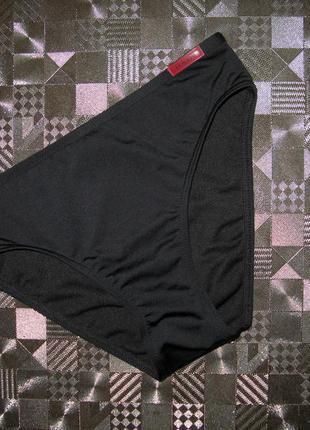 Черные классические плавки бикини низ купальника la roche  s