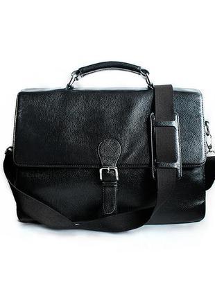 Мужская кожаная сумка портфель ms