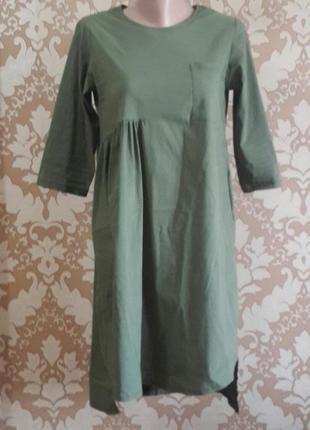 Стрейчевое платье. размер m
