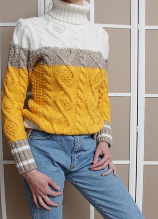 Тёплый свитер на холодную зиму❄️