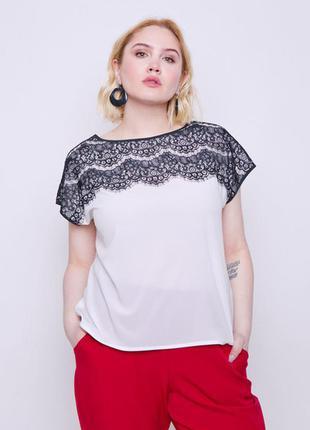 Блуза с кружевом  grand ua