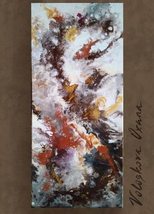 Абстрактная живопись, картина для интерьера