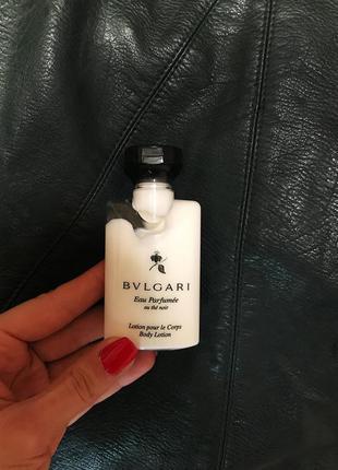 Шикарный парфюмированый лосьон для тела bvlgari оригинао