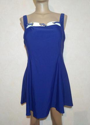 Купальник-платье большого размера
