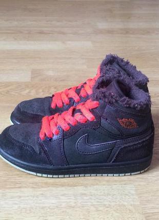 Замшевые кроссовки nike jordan оригинал 31 размера