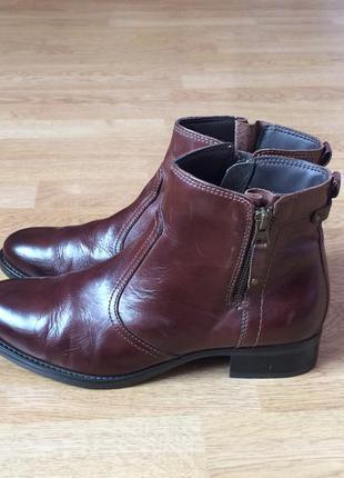 Кожаные ботинки primopiano 40 размера в отличном состоянии