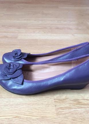 Кожаные туфли hotter англия 41 размера в идеальном состоянии