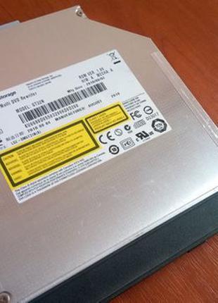 Привод DVD-RW Hitachi LG GT32N, для ноутбука, недорого