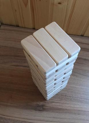 Настольная игра Джанга 60шт (Janga, Дженга, Башня) Производитель.