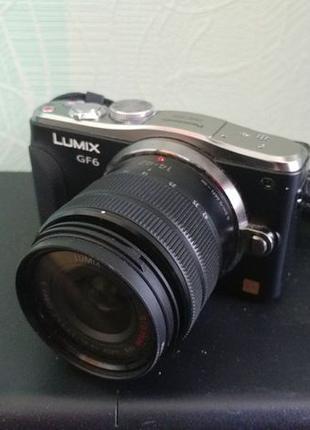 Системный фотоаппарат Panasonic Lumix DMC-GF6 micro 4/3