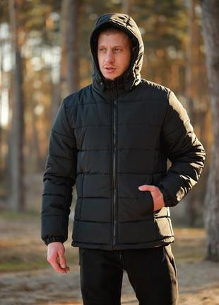 Акция! Зимняя Мужская Куртка Пуховик Парка Ветровка БЕЗ ПРЕДОПЛАТ