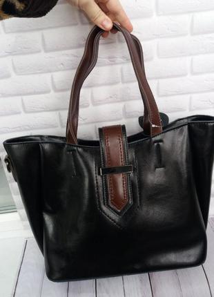 Кожаная женская сумка шкіряна жіноча на плече
