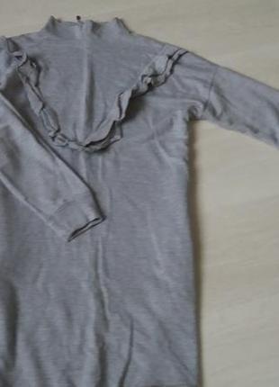 Плаття світшот з карманами zara