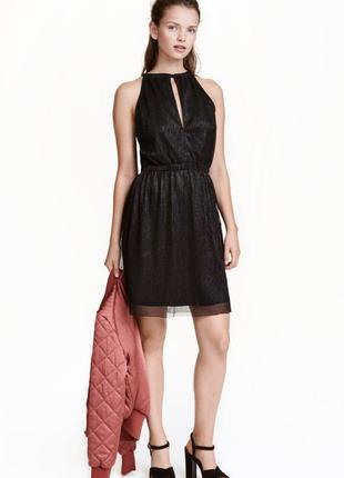 Новое блестящее платье h&m
