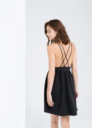 Акция! 1+1=3 новое платье с тюлем на декольте и красивой спинк...