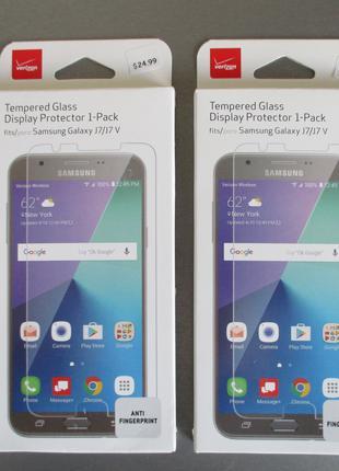 Защитное стекло Verizon для Samsung Galaxy J7 J727 2017 J700 2015