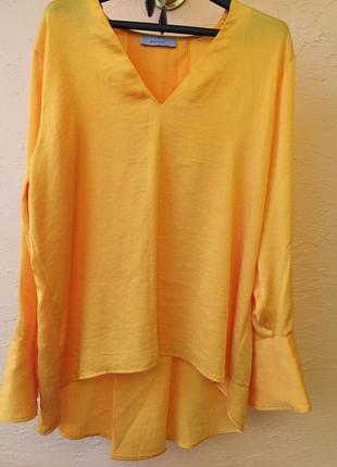 Шикарная блуза р.10-12