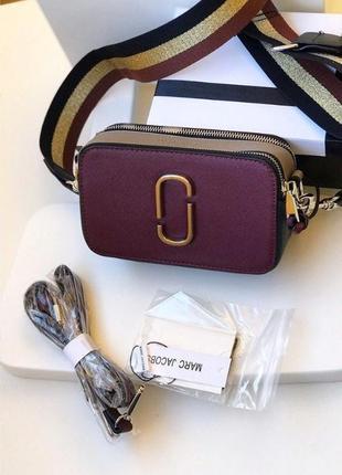 Женская сумка клатч marc jacobs марк якобс с коробкой
