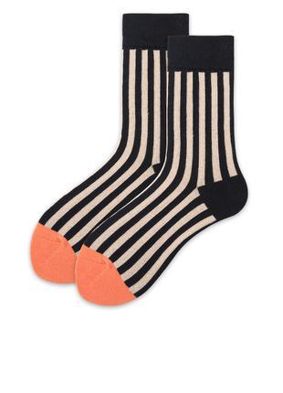 Женские коллекционные носочки! В полосочку