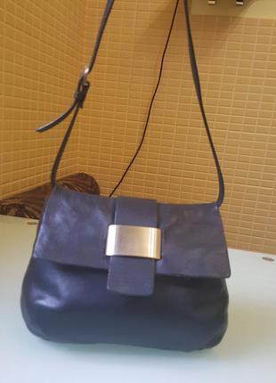 Модная женская сумка cos 100% кожа original