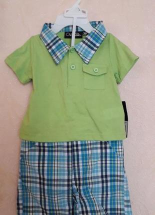 Костюмчик на малыша - шорты и футболка