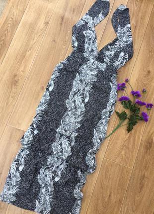 Супер красивое платье в пол boohoo