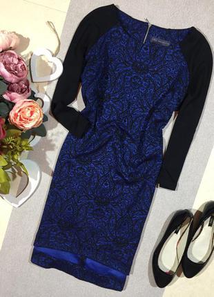 Красивое платье - туника с ажурным рисунком.