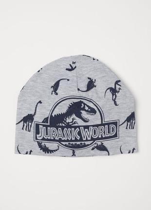 Шапка трикотажная н&м динозавры