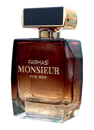 Чоловіча парфумована вода monsieur, 100 мл