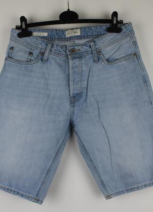 Стильные качественные джинсовые шорты jack&jones regular fit р...