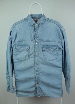 Оригинальная рубашка levis vintage denim shirt размер м